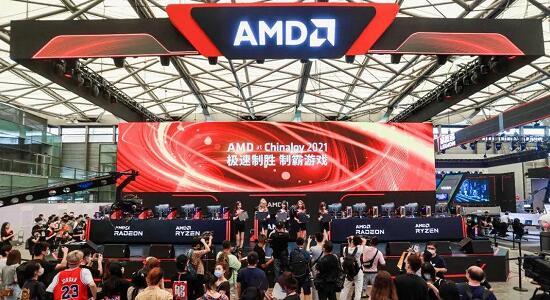 AMD展台
