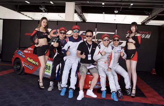 2018赛季GPEC金港耐力赛,安德斯特赞助的北京七度赛车队参赛