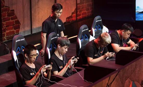 WGC微信游戏精英赛现场选手