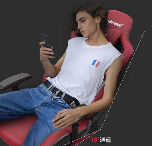 安德斯特电竞椅人体工学设计